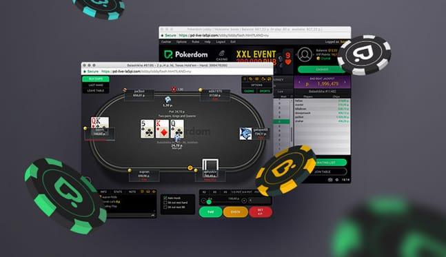 PokerDom: покер на рубли