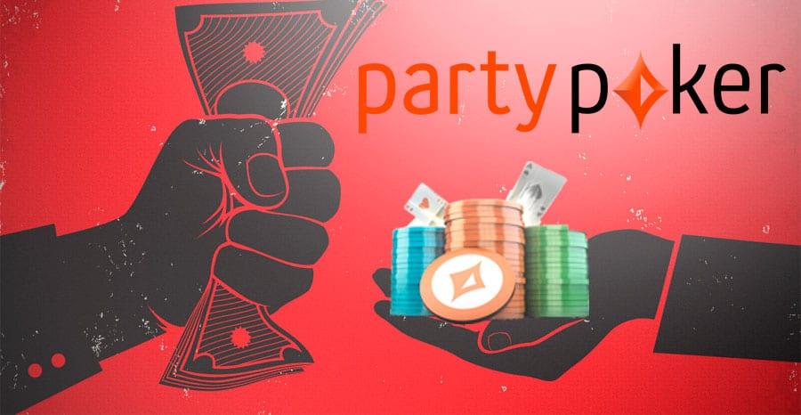 Как сделать депозит partypoker