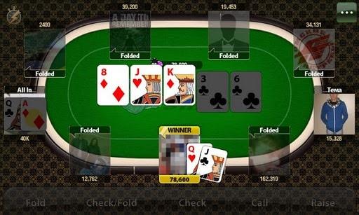 Интерфейс Poker Shark