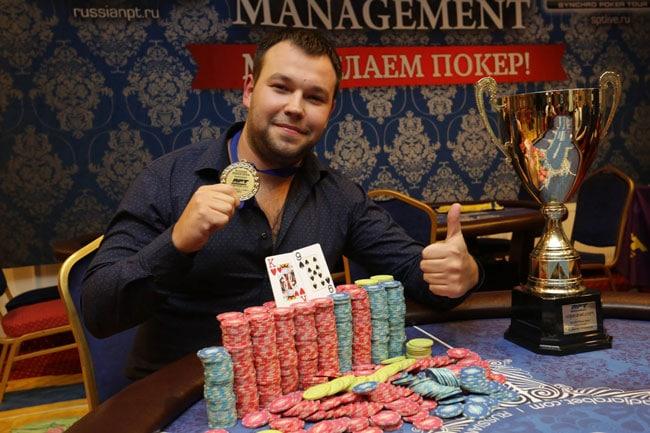 Олег Сунцов выиграл первый русский покерный турнир