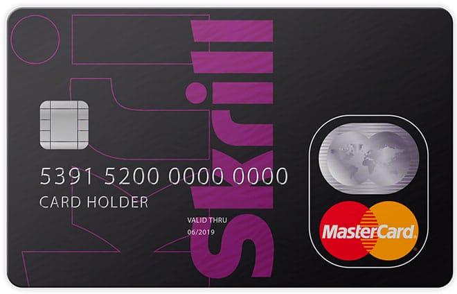 skrill карта для оплаты в интернете